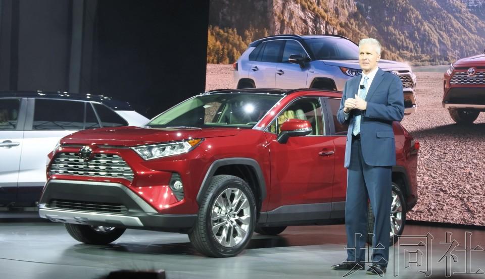纽约车展日本车商欲借SUV新车型重整旗鼓
