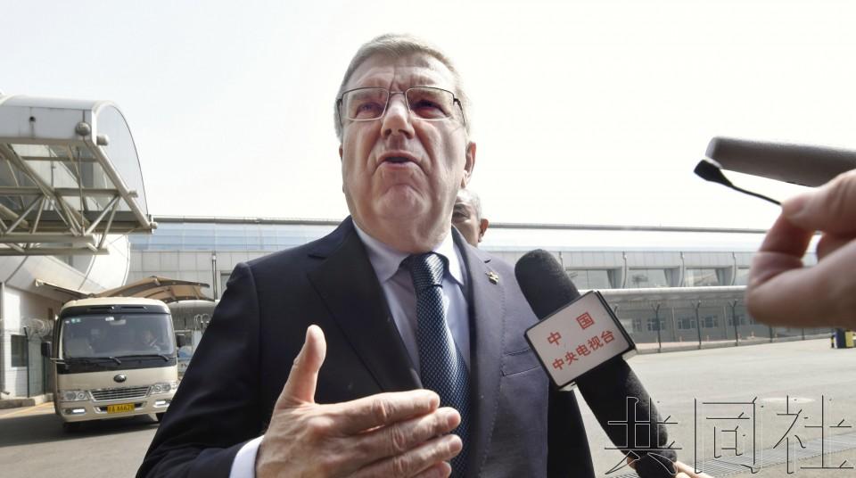 IOC主席称探讨提议韩朝在东京奥运联合入场