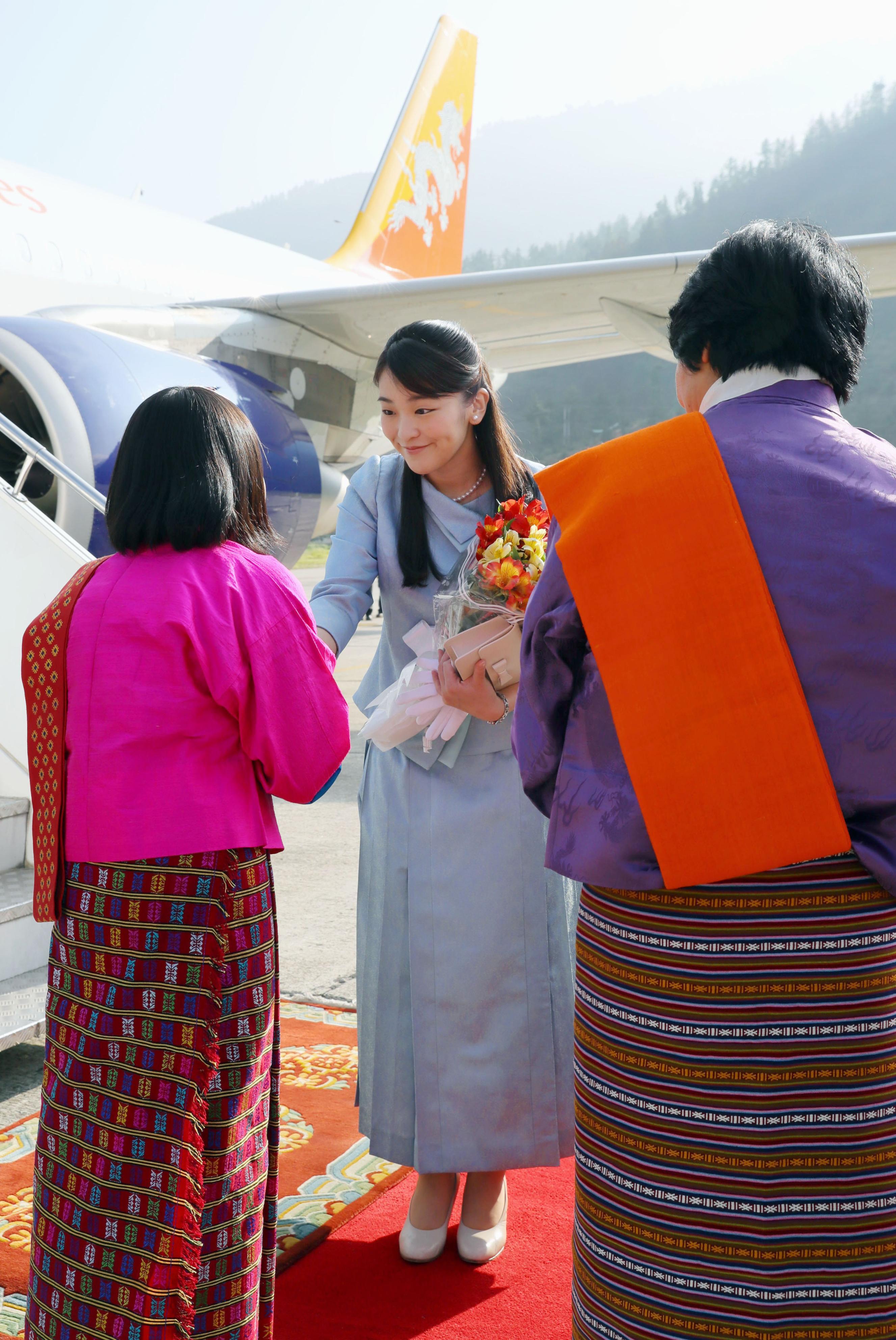 Japanese Princess Mako completes official visit to Bhutan