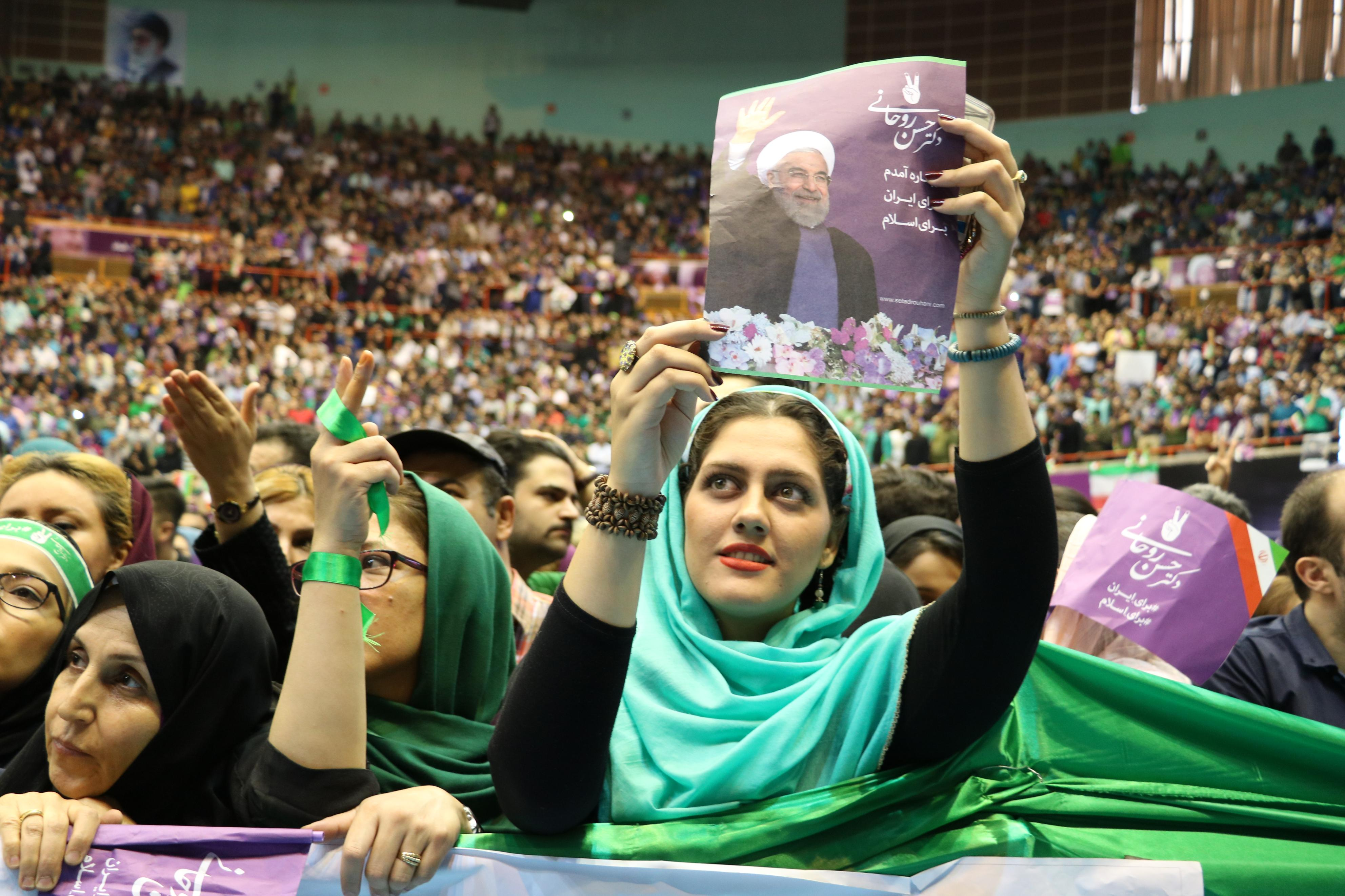 Voting gets under way in Iran to pick new president