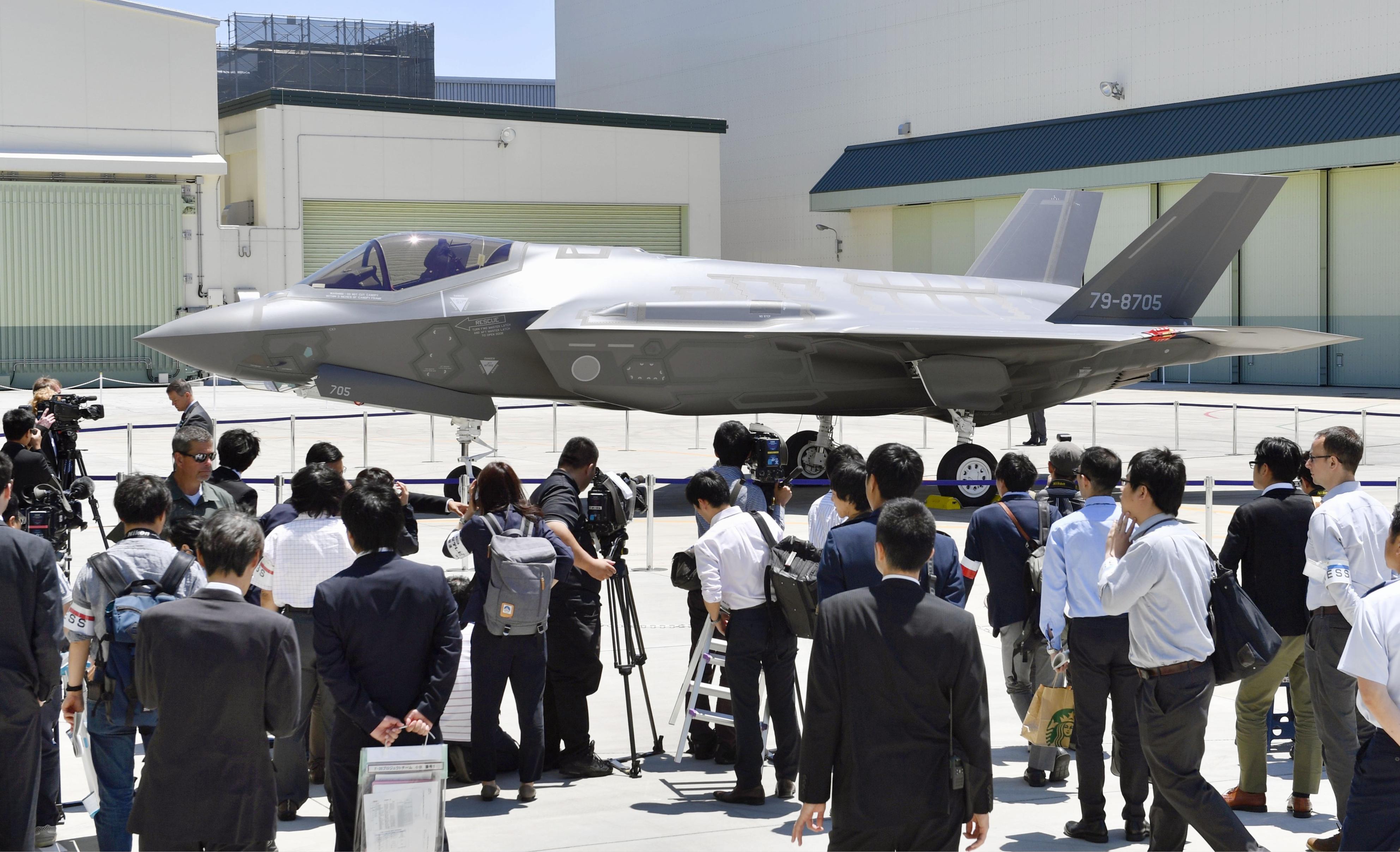 1st Japanese-built F-35 stealth jet unveiled