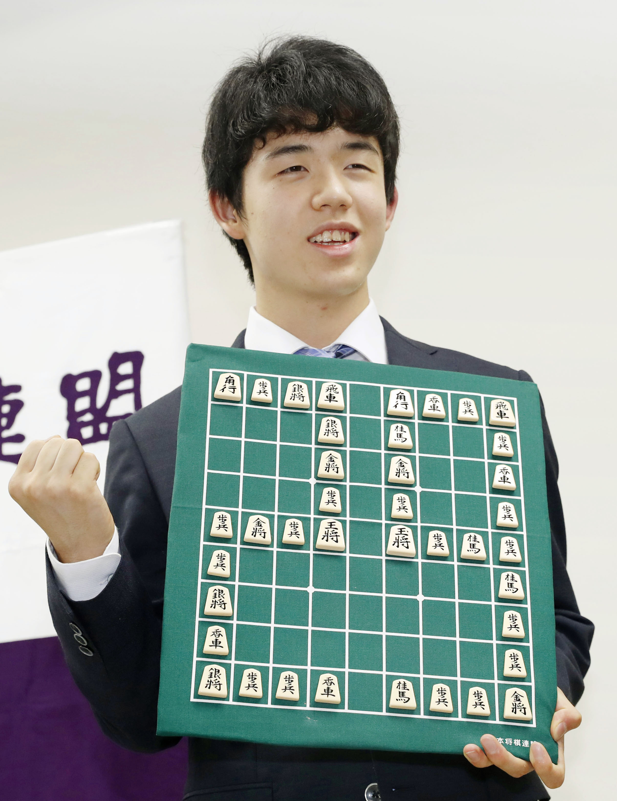 Japan's youngest shogi prodigy sets new record with 29th straight win