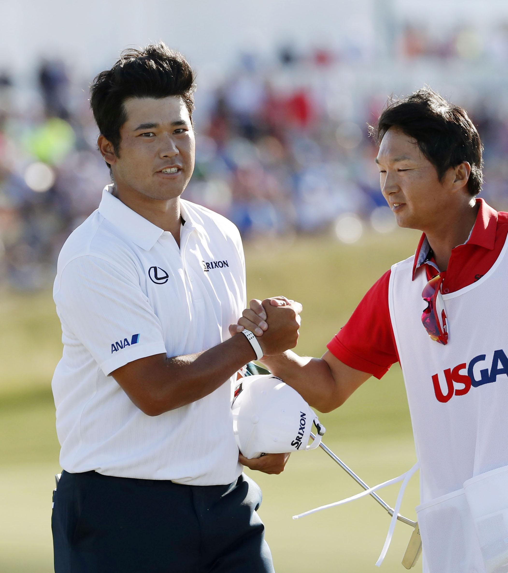 Golf: Japan's Matsuyama finishes 2nd at U.S. Open