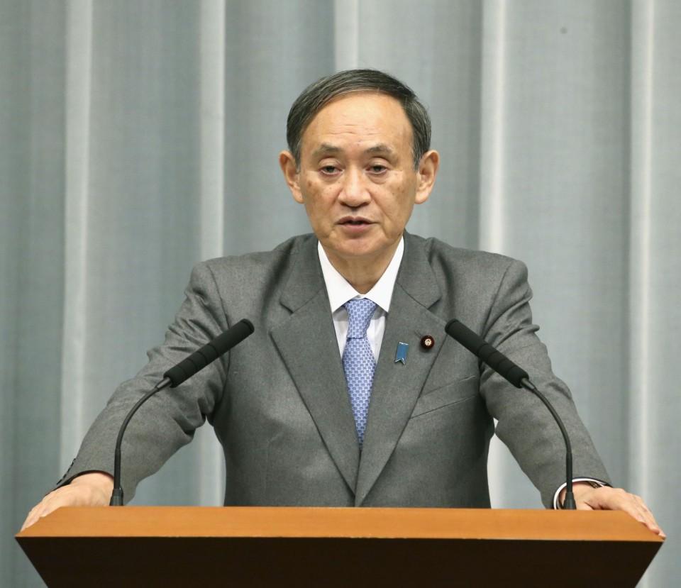 كبير متحدثي الحكومة اليابانية | عبر كيودو