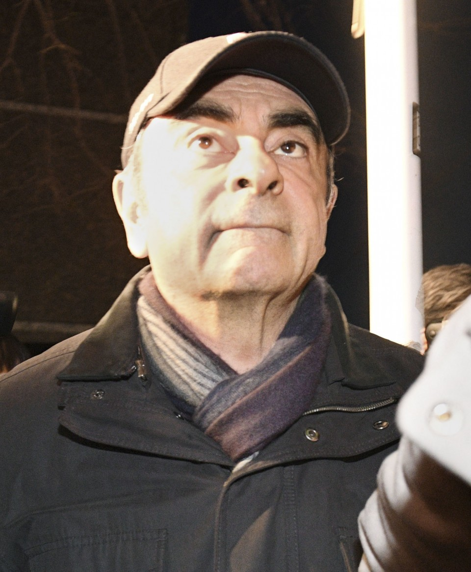 Carlos Ghosn's lawyer apologises as workman disguise ploy backfires