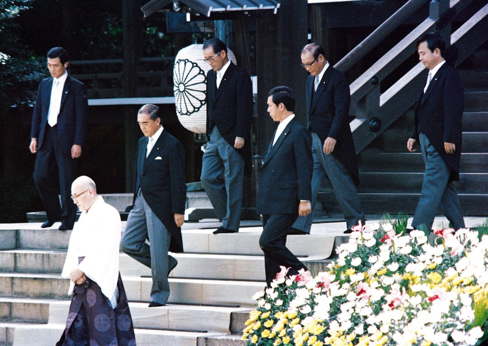 Japan's Nakasone hobnobbed with Reagan, pursued reforms