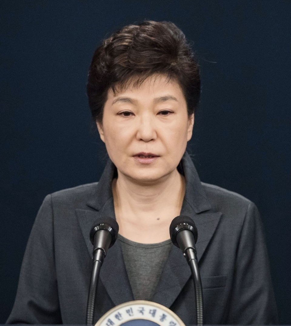 Former South Korean President Park Sentenced to 24 Years