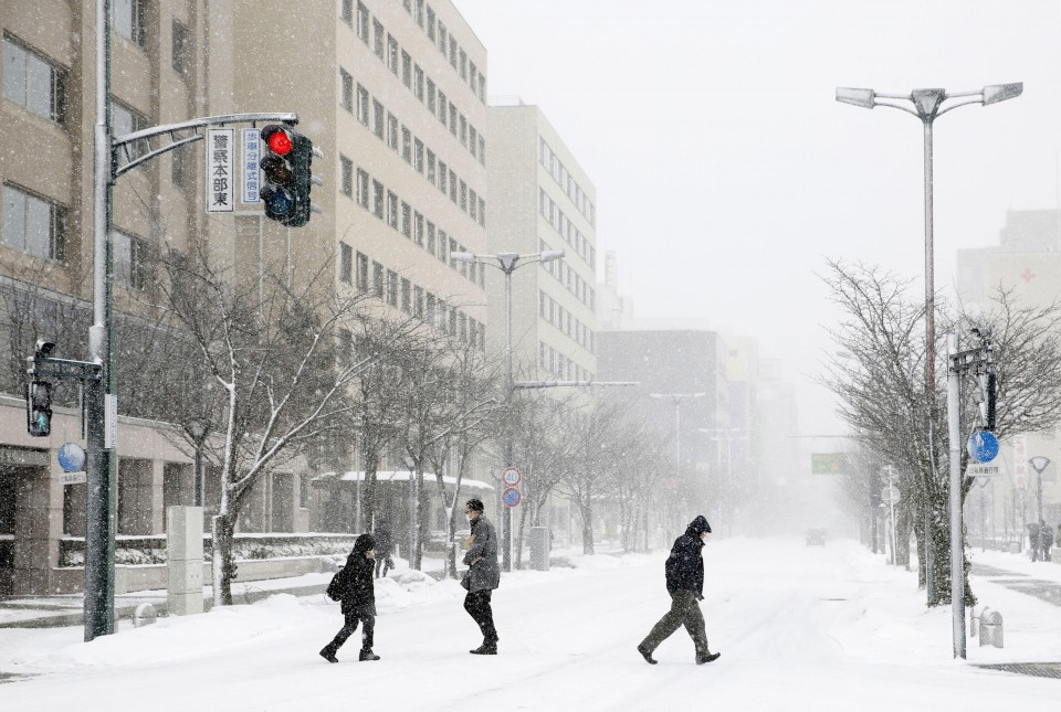 9f75956e2 Japan braces for heavy snow as nation prepares for year-end holidays