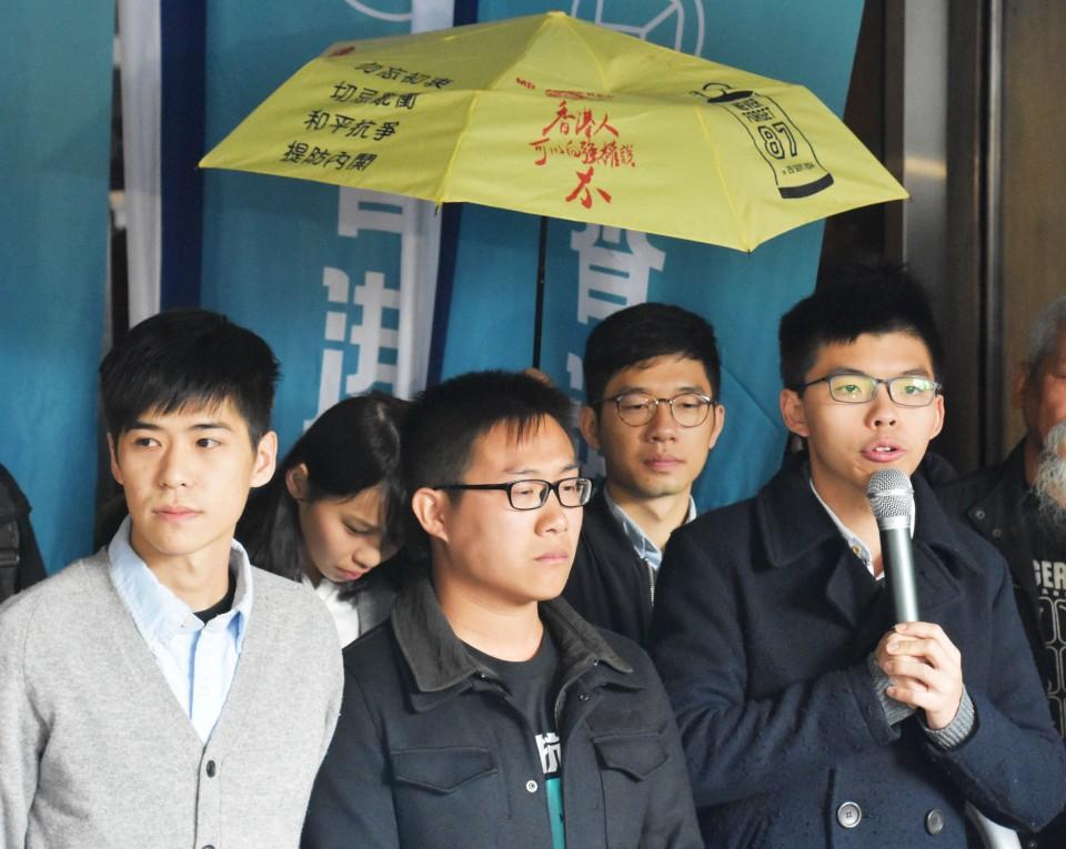 Hong Kong democracy activist Joshua Wong jailed for protest