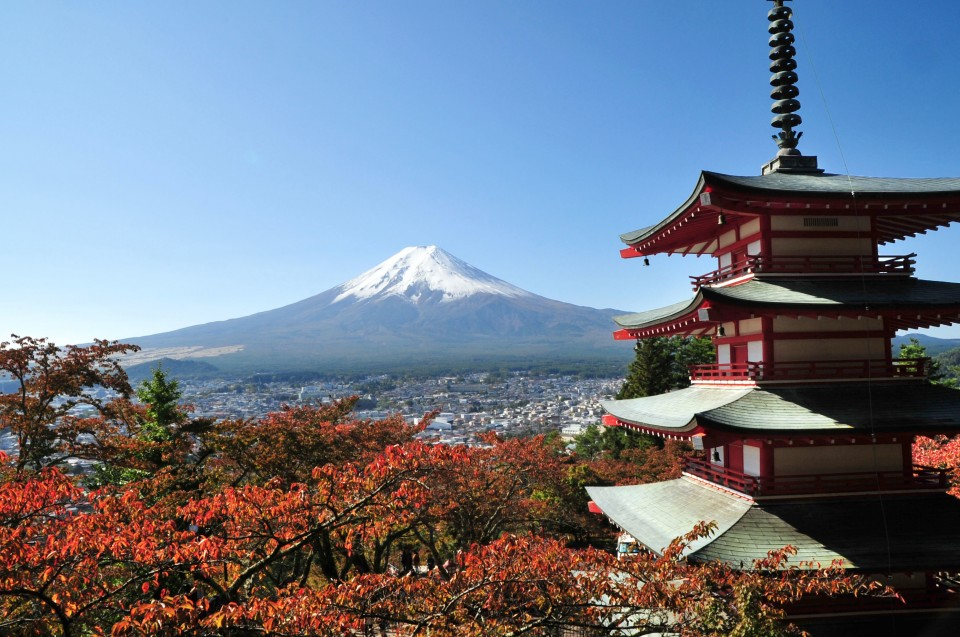 Aerial Map Of Japan.Mt Fuji Here New Online Map Shows Where Japan S Top Peak Can Be