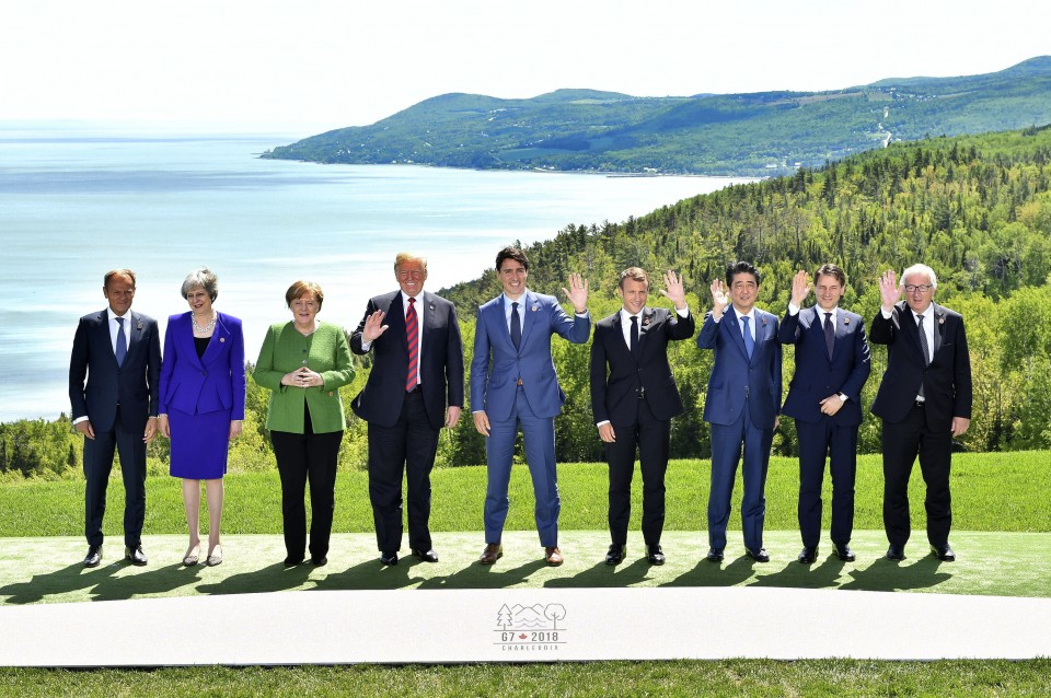 Merkel slams Donald Trump's G7 tweets as 'depressing' and 'sobering'