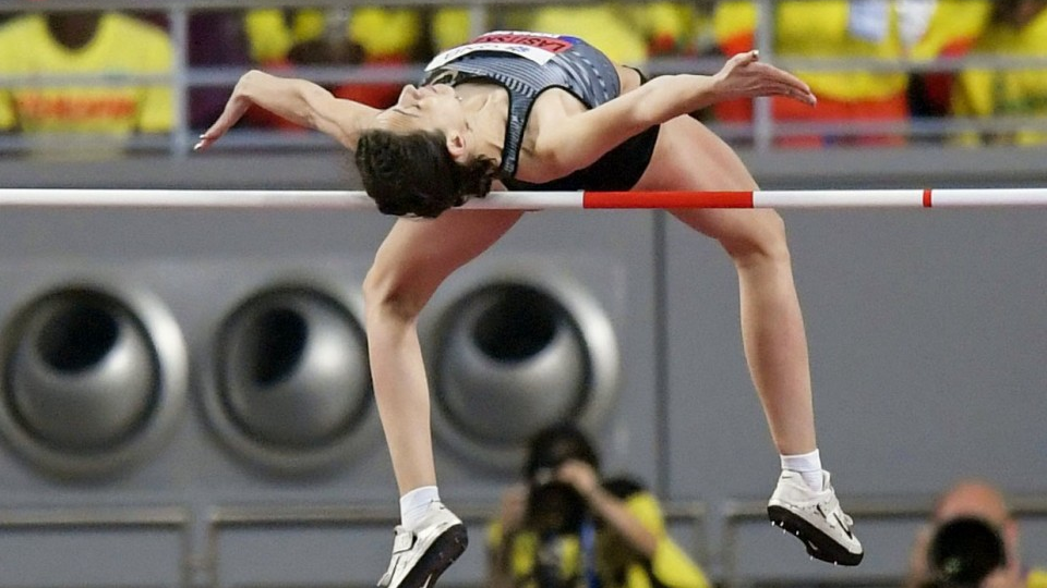 Olympics Doping Ban Jeopardizes High Jump Champ S Tokyo Dream