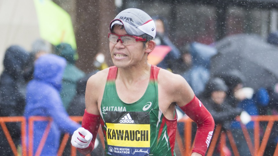 "Japanese ""citizen runner"" Yuki Kawauchi wins Boston Marathon"