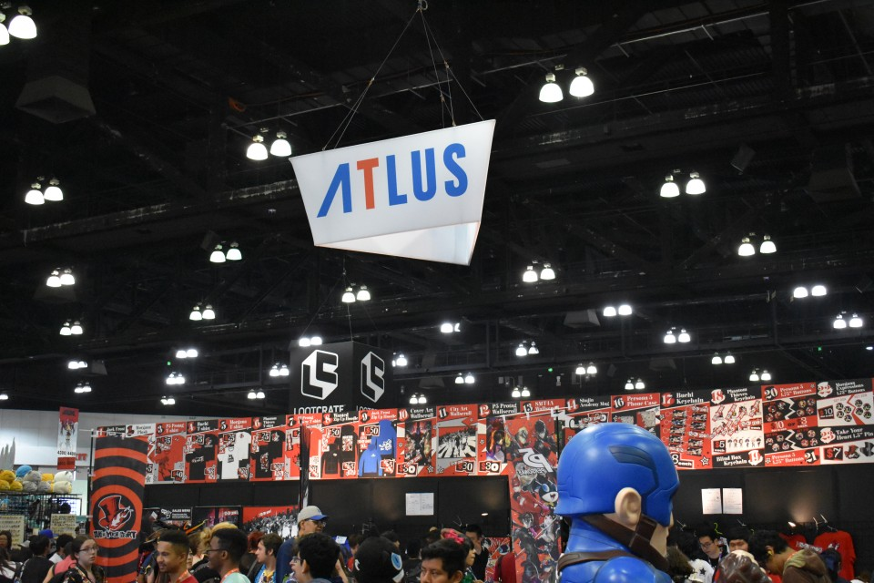 Funimation Viz Media Bandai Namco Atlus Are Just A Few Of The Names In Residence At Expo