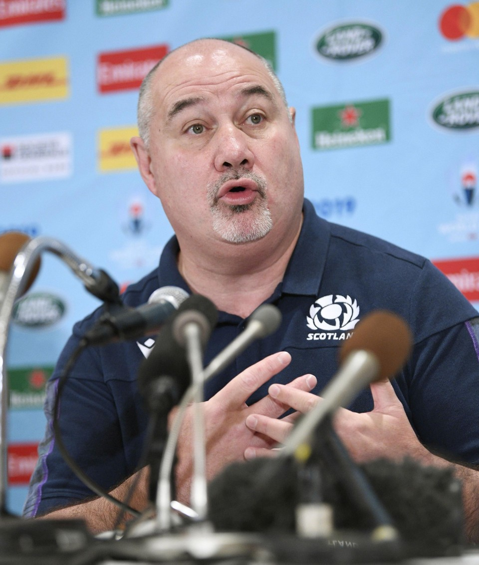 Scots pay fine and express regret over typhoon RWC comments