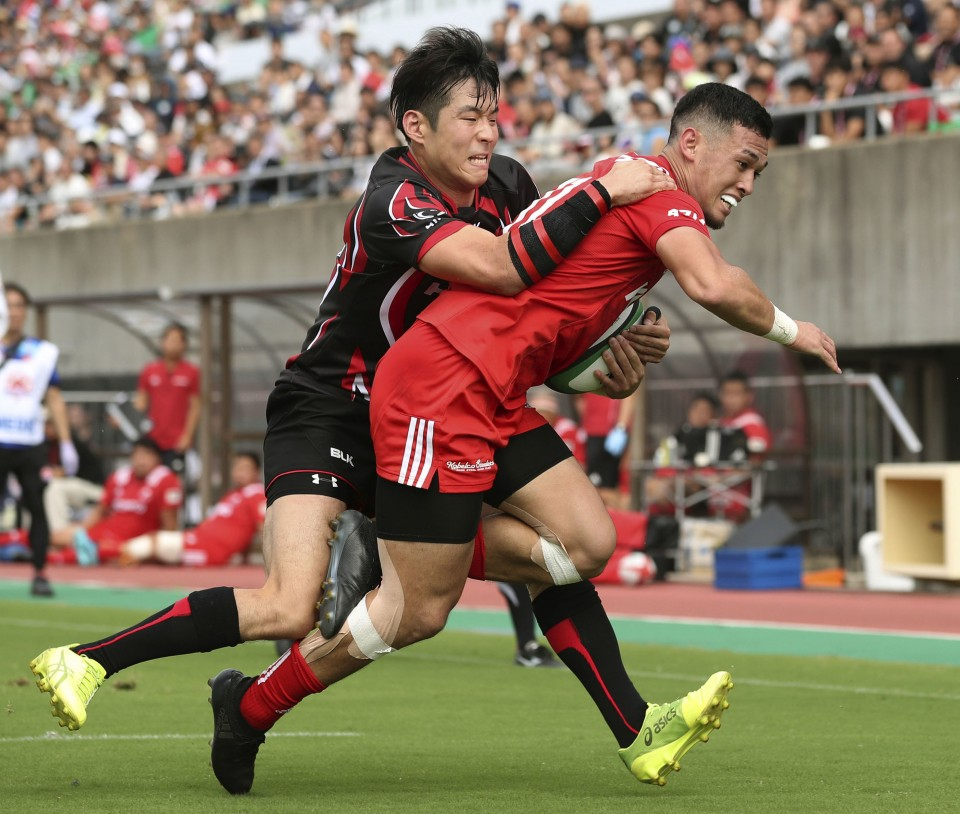 Rugby Kobe Hammer Hino To Remain Unbeaten In Top League