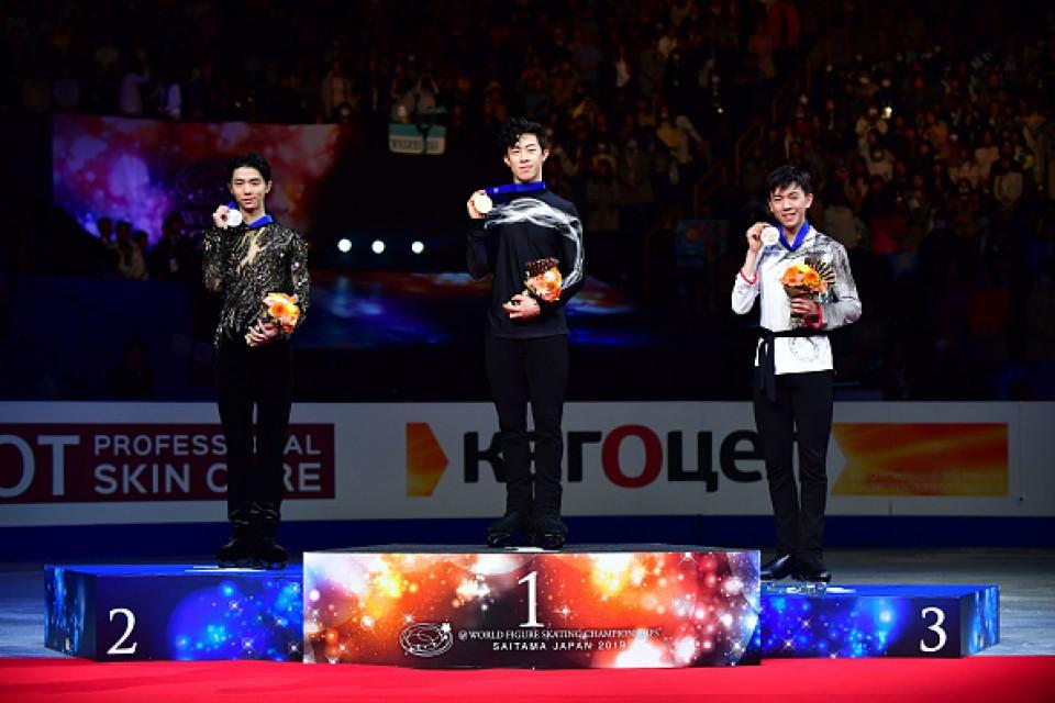 Figure skating: Nathan Chen repeats worlds title, Yuzuru Hanyu takes 2nd