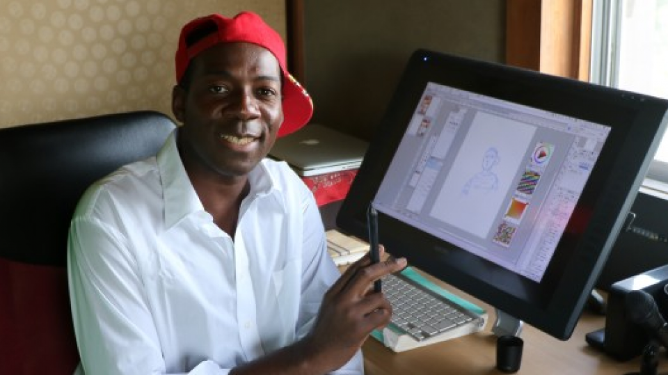 Cameroon-born manga artist deftly captures life growing up