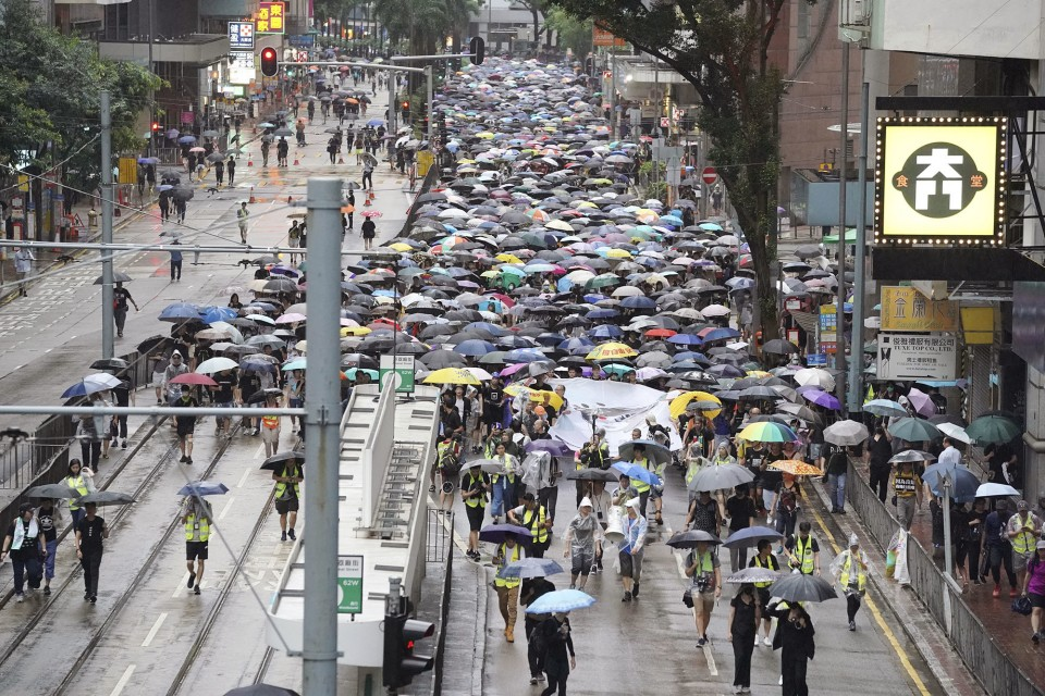Hong Kong Executive Carrie Lam Contends Extradition Bill is Dead