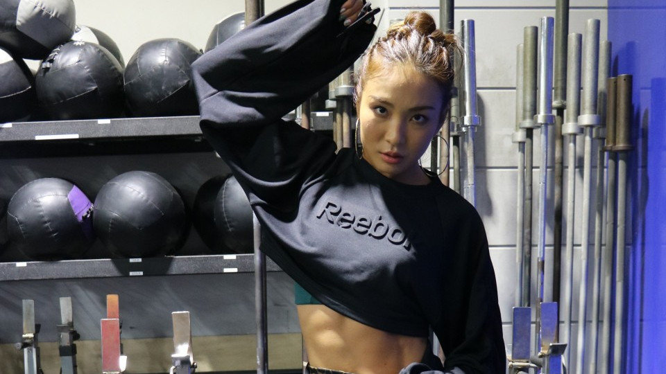 63879cf99 Six-pack queen goes full burn to revolutionize fitness in Japan