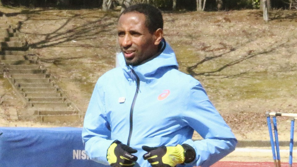 Ethiopian refugee prepares for Tokyo Marathon with eye on Olympics