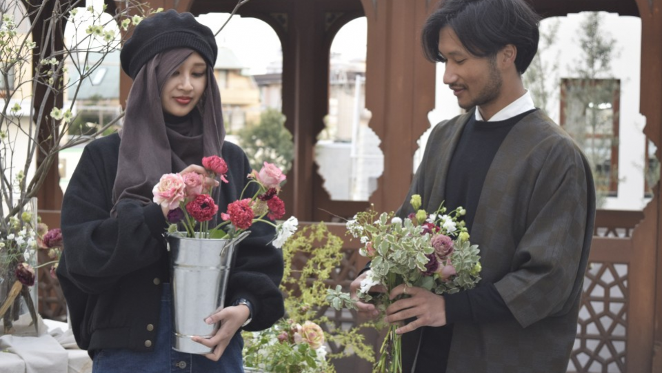 Brought up in Japan, Muslim siblings bring fresh take on fashion, art