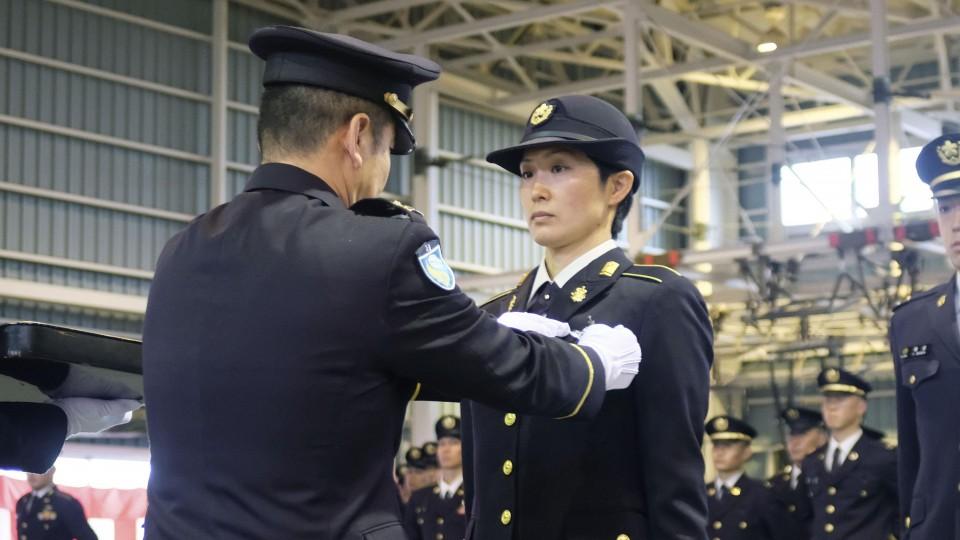 هاشيبا تشارك في مراسم التخرج | عبر وزارة الدفاع وكيودو