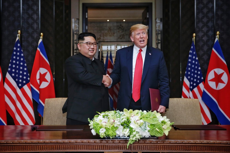 Trump, North Korea's Kim Jong Un sign unspecified document