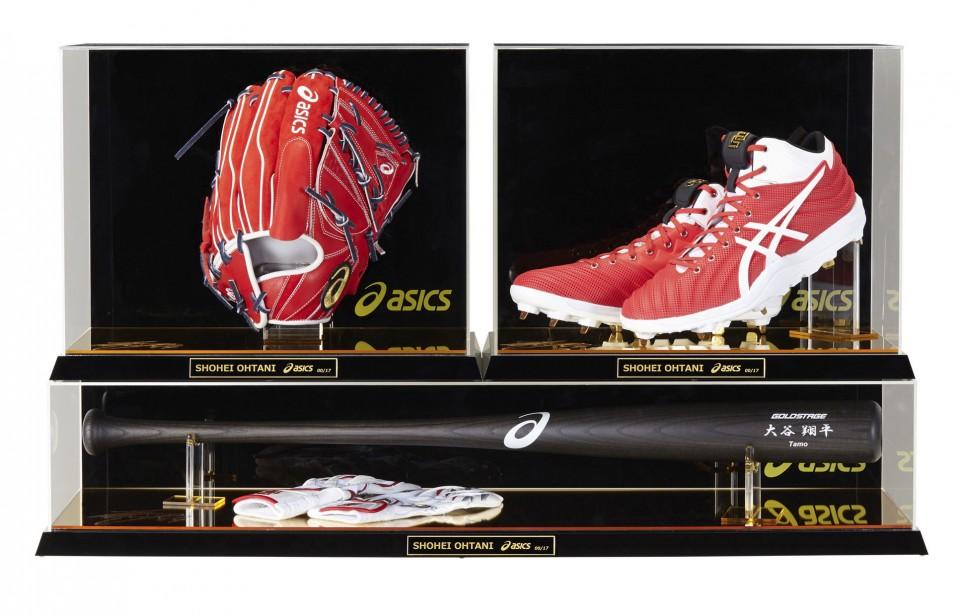 low priced 216b4 e3297 Asics to sell replica Shohei Ohtani baseball gear set