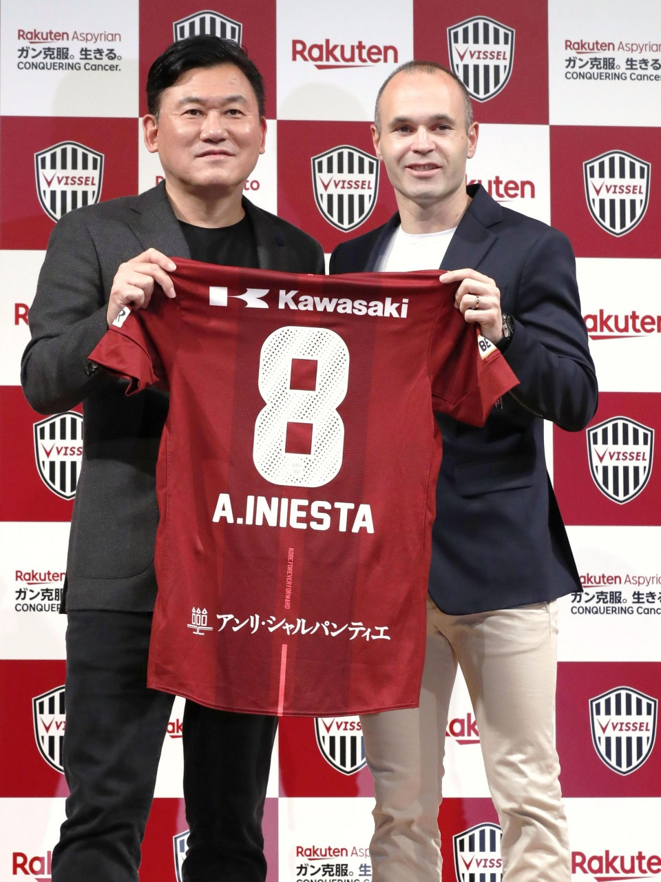 cc08b3060 Football  Andres Iniesta excited by Japan challenge