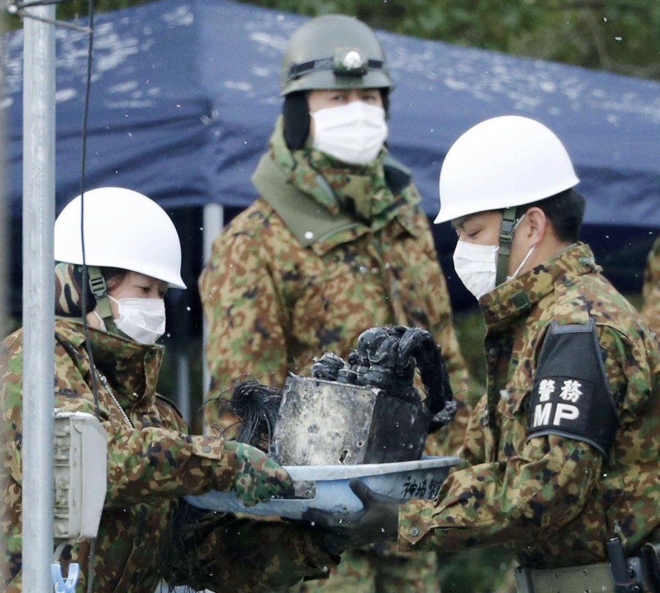 1 killed after Japanese military helicopter crashes into house