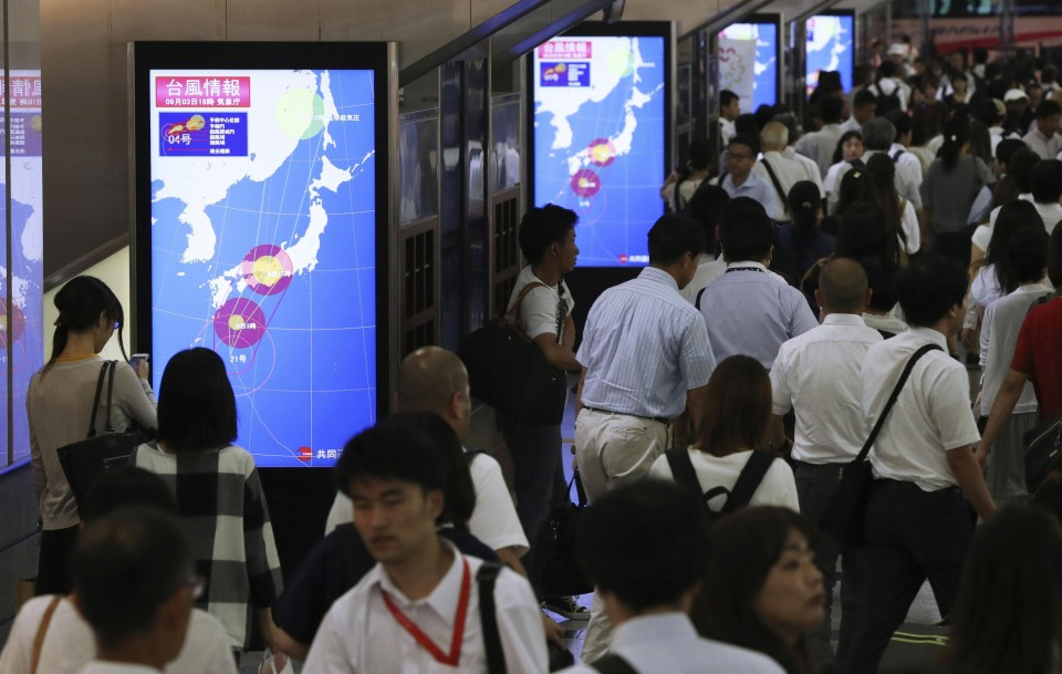 WATCH: Parts of Japan are being evacuated as it expects the biggest storm in 25 years