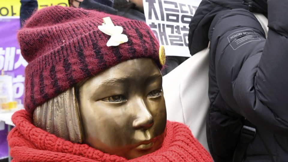 S. Korea won't ask to renegotiate flawed comfort women deal