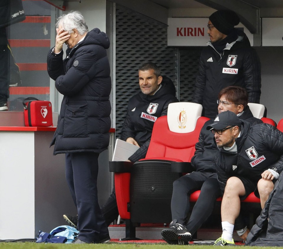 Japan sack their manager ahead of the 2018 World Cup