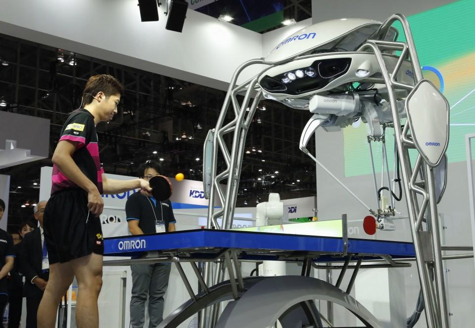 Olympics Tokyo Organizers Eye Using Robot Technology