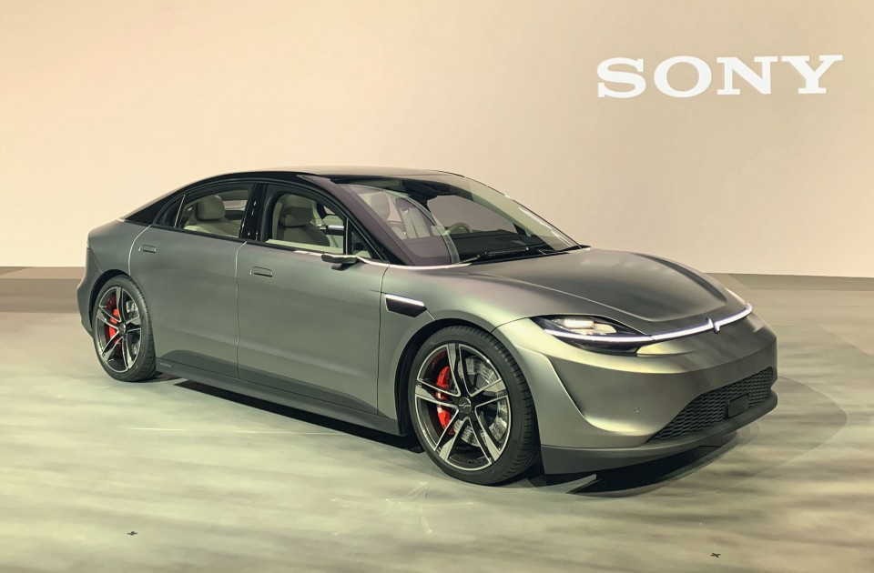 Sony Unveils Electric Car With Autonomous Driving Technology