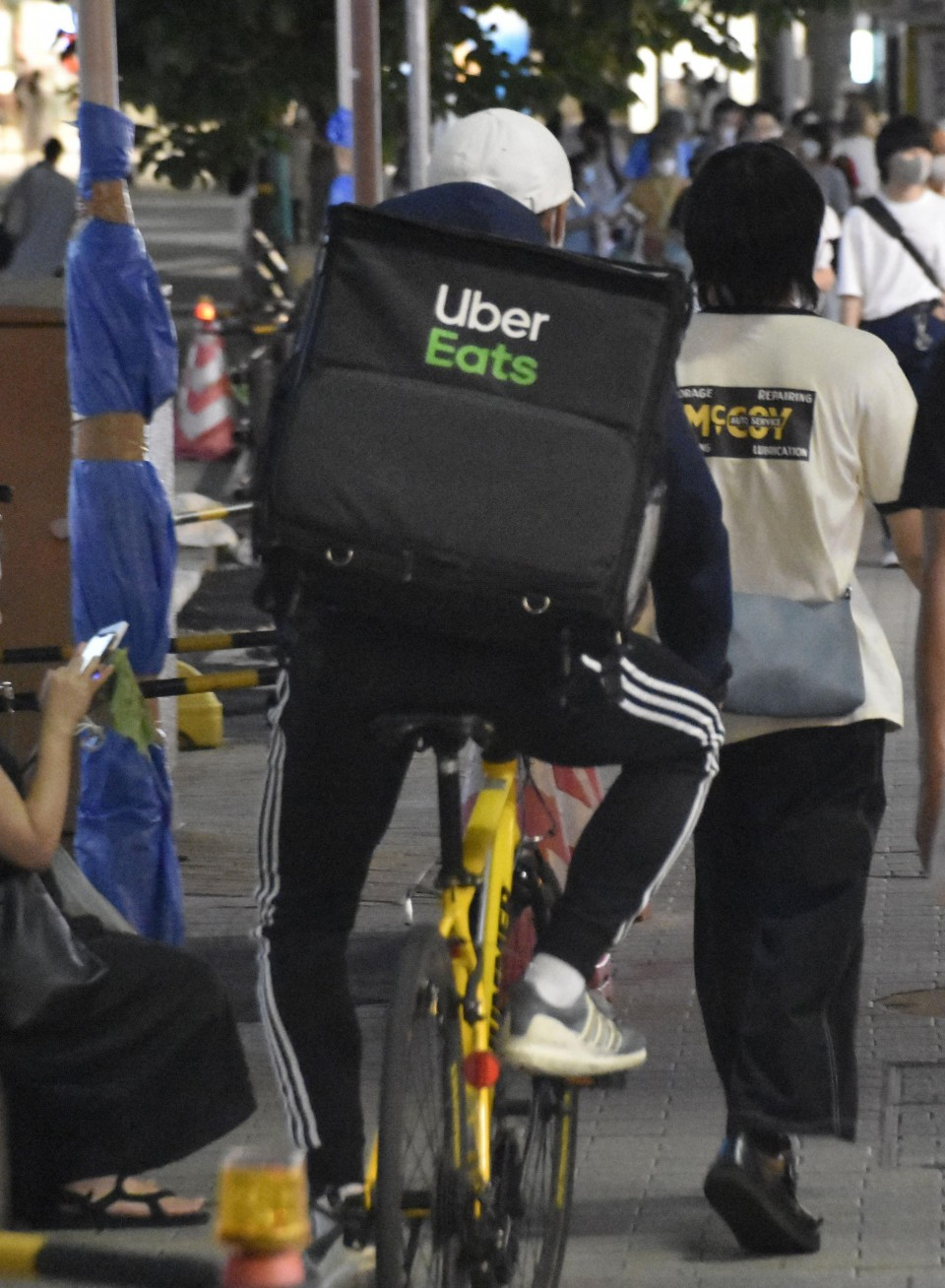 Uber Eats Japan suspende contratação de estudantes estrangeiros