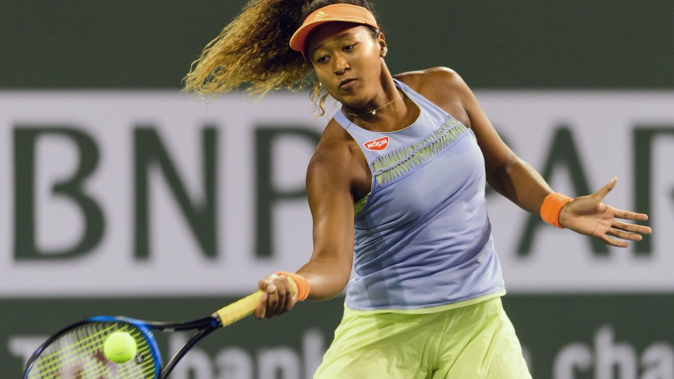 Tennis Osaka Cruises Past Halep Into Final At Indian Wells Masters