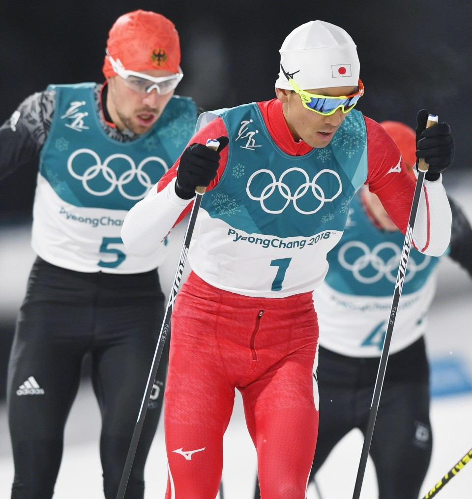 Olympics: Japan finishes 4th in team Nordic combined
