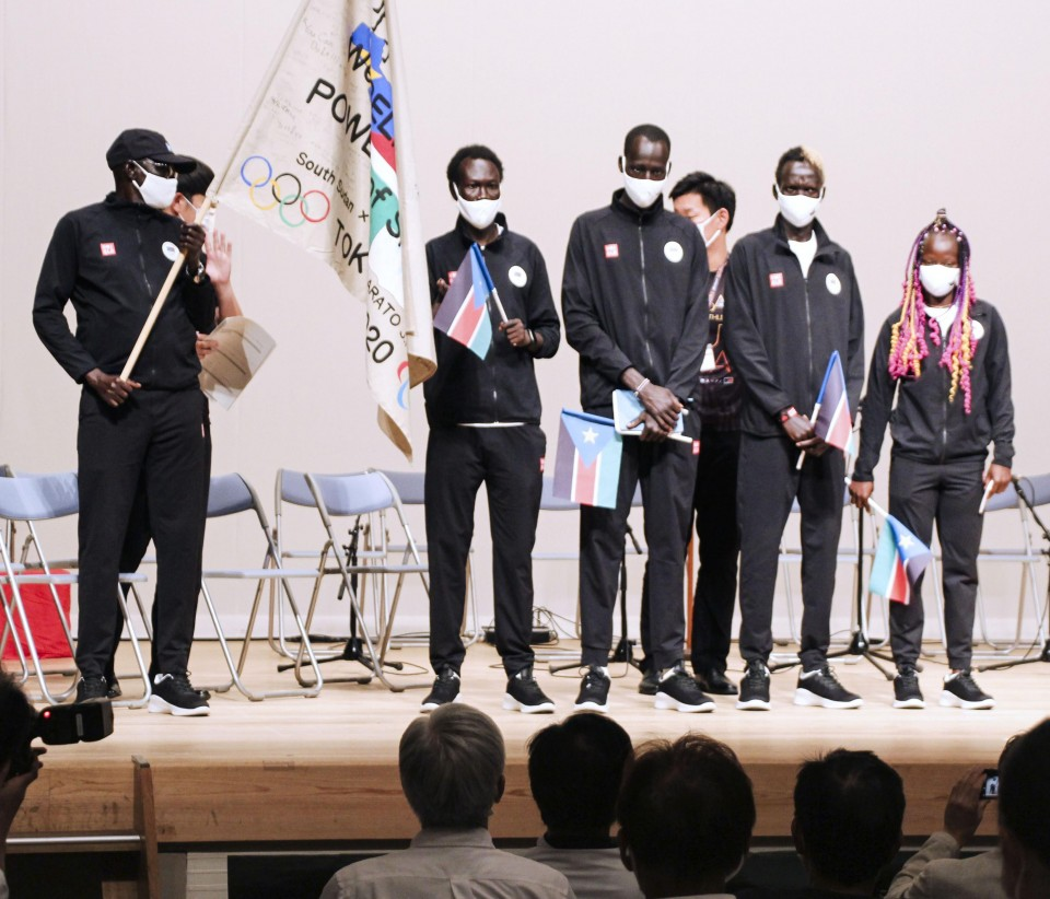 South Sudan athletes to top off prolonged stay in Japan on high