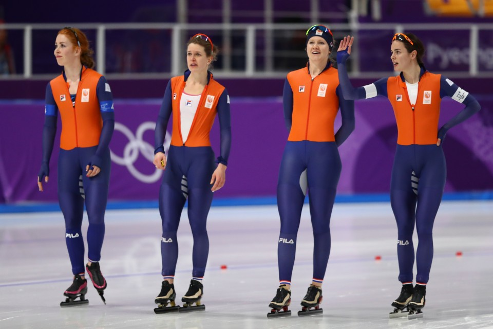 Olympics: Japan wins gold in women's speed skating team ...