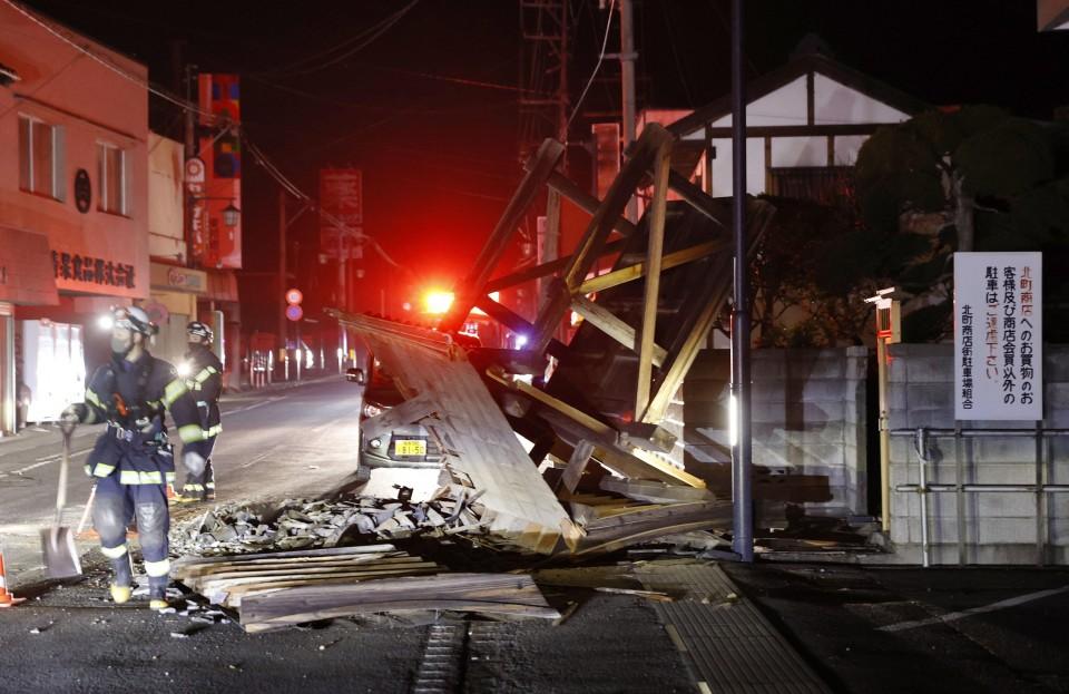 "M7.3 Fukushima quake likely aftershock of 2011 killer quake"""