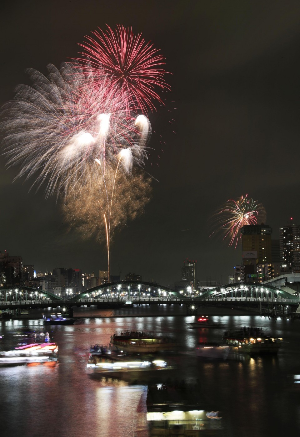 Fewer fireworks events in Japan next summer due to Olympics photo