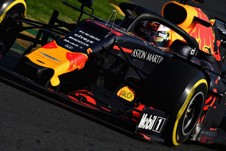 Max Verstappen shows Honda-fuelled Red Bull a contender