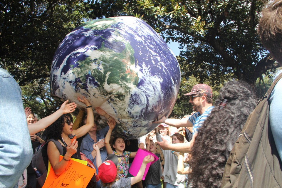 Global climate rally taking place in Huntsville
