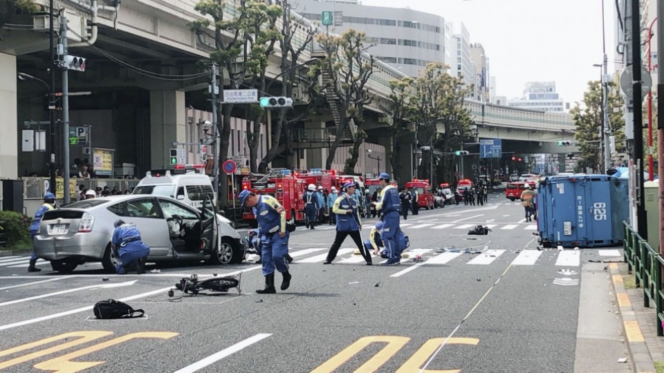 No technical problems found in car involved in Tokyo fatal crash