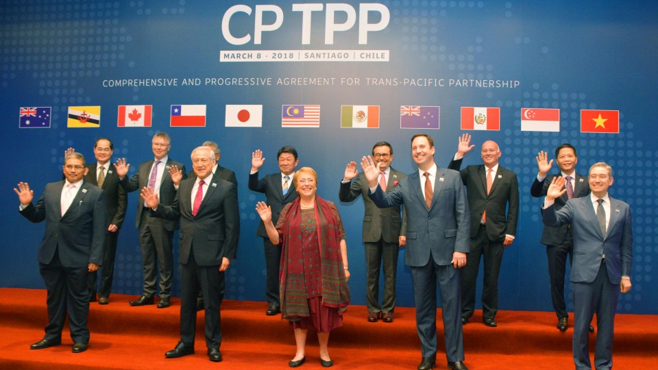 Trans Pacific Free Trade Pact Set To Enter Into Force On Dec 30