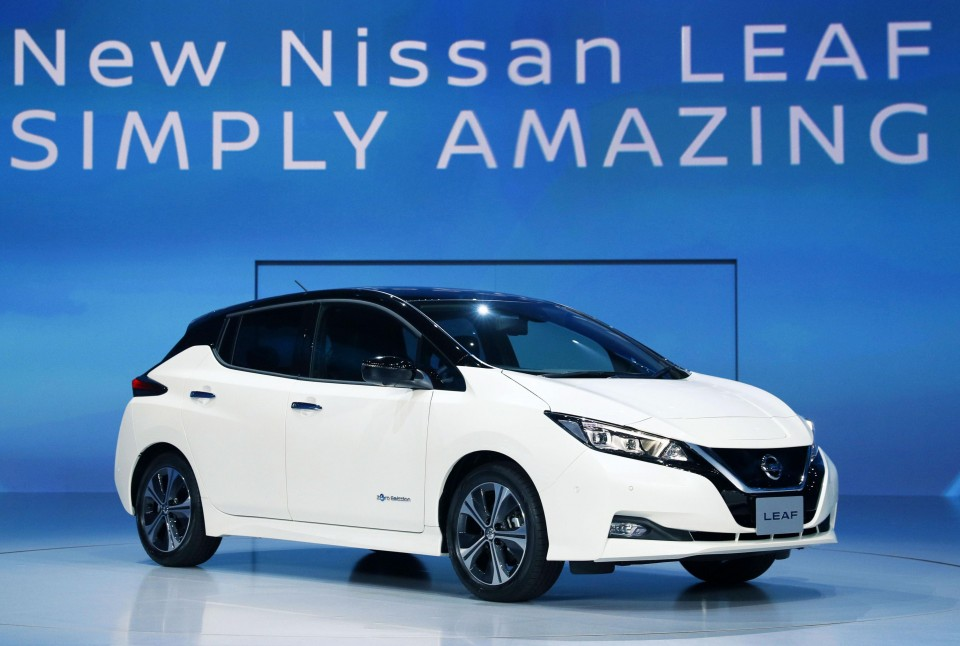 Meet the 2018 Nissan Leaf
