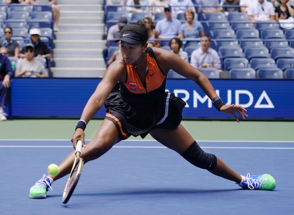 Naomi Osaka begins US Open defence with battling victory