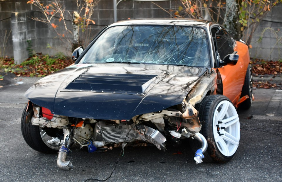Car plows into spectators at drift event in southwest ...